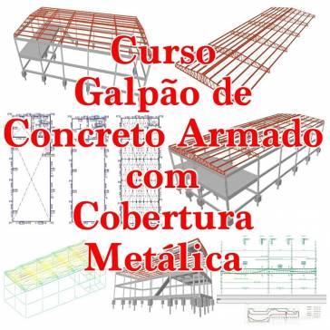 Cypecad - Barracao com cobertura metalica