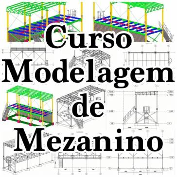 Tekla Structures - Mezanino